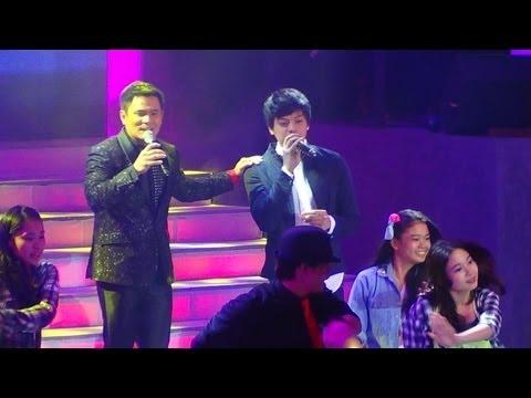 Daniel Padilla & Ogie - Dito Sa Puso Ko/Na Sa'yo Na Ang Lahat Mashup (25 I Write The Songs Concert)