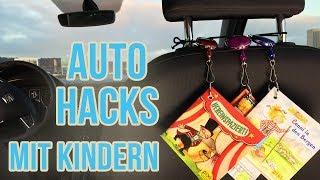 Auto Hacks für Eltern | Mit Kindern unterwegs im Auto
