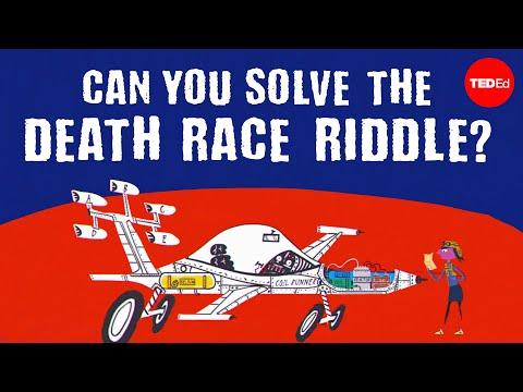 Video image: Can you solve the death race riddle? - Alex Gendler