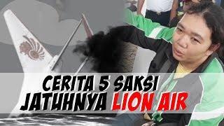 Cerita 5 Saksi Mata Jatuhnya Lion Air JT 610