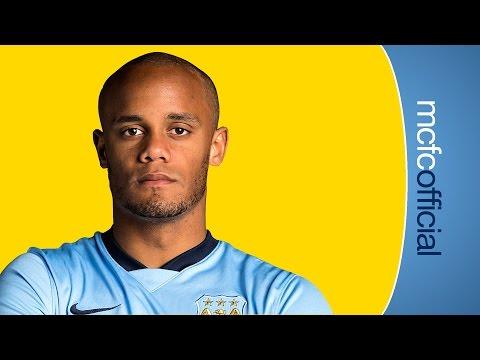 KOMPANY'S NEW CONTRACT   Man City captain Vincent Kompany signs new deal