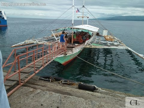 Pumpboat: Sibulan, Negros Oriental to Liloan Port, Cebu