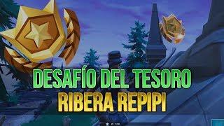 Fortnite | Mapa del tesoro en Ribera Repipi/Snobby Shores | Desafíos de Temporada 5 | Semana 5
