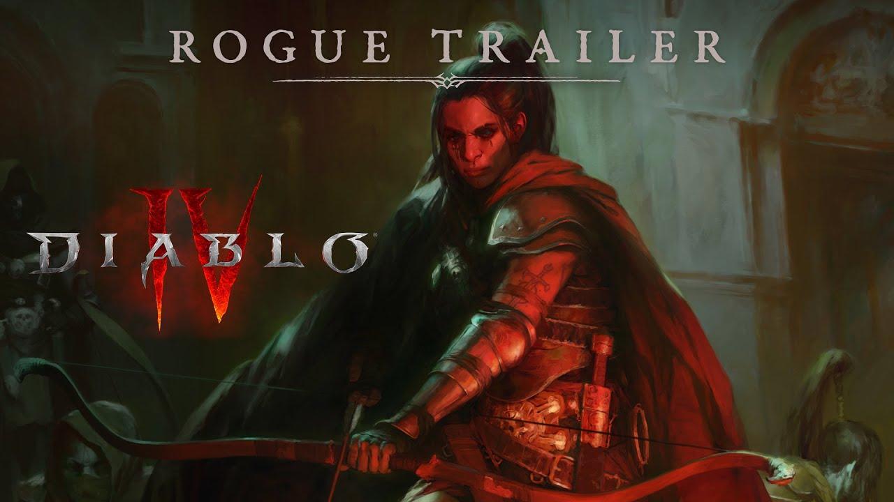 Download Diablo IV - Rogue Announce Trailer