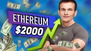 Ethereum Взрывной Рост до 2000$ Майнеры Копят Эфир! Бутерин Готов Пампить 2020 Прогноз