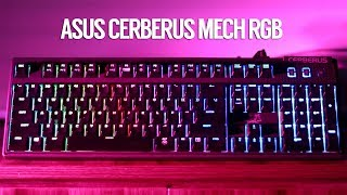 ASUS Cerberus RGB Mechanical Keyboard - Review & Sound Test