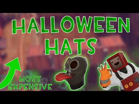 TF2: Most Expensive HALLOWEEN Hats [2018] (Scream Fortress)