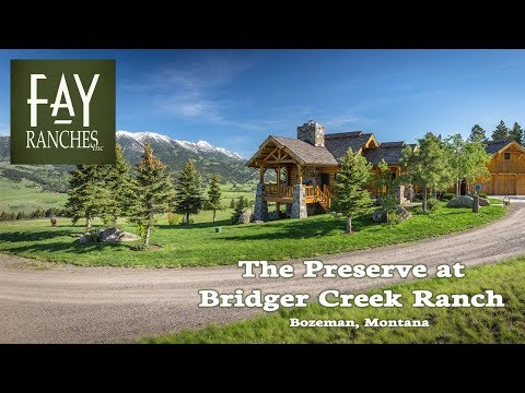 SOLD | Montana Property For Sale | The Preserve At Bridger Creek Ranch | Bozeman, MT