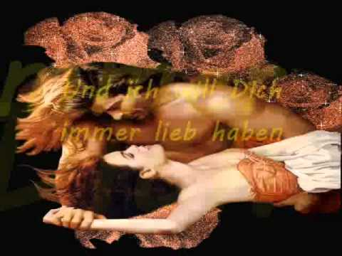 Du Bist Alles By Peter Maffay ~ Lyrics On Screen German & Eng ~