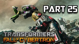 Transformers Fall of Cybertron Walkthrough - Part 25 [Chapter 11] Unleash Grimlock Let