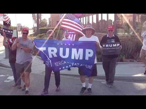 Trumping In Redlands, CA!
