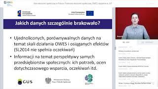 Webinarium: Jaki jest stan ekonomii społecznej w Polsce?
