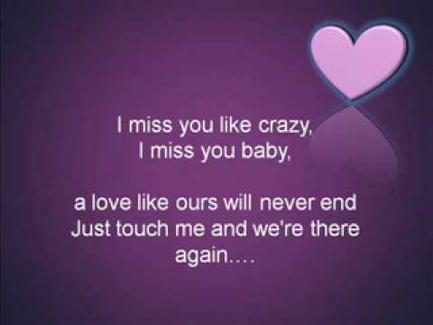 Miss You Like Crazy By Kyla With Lyrics Youtube