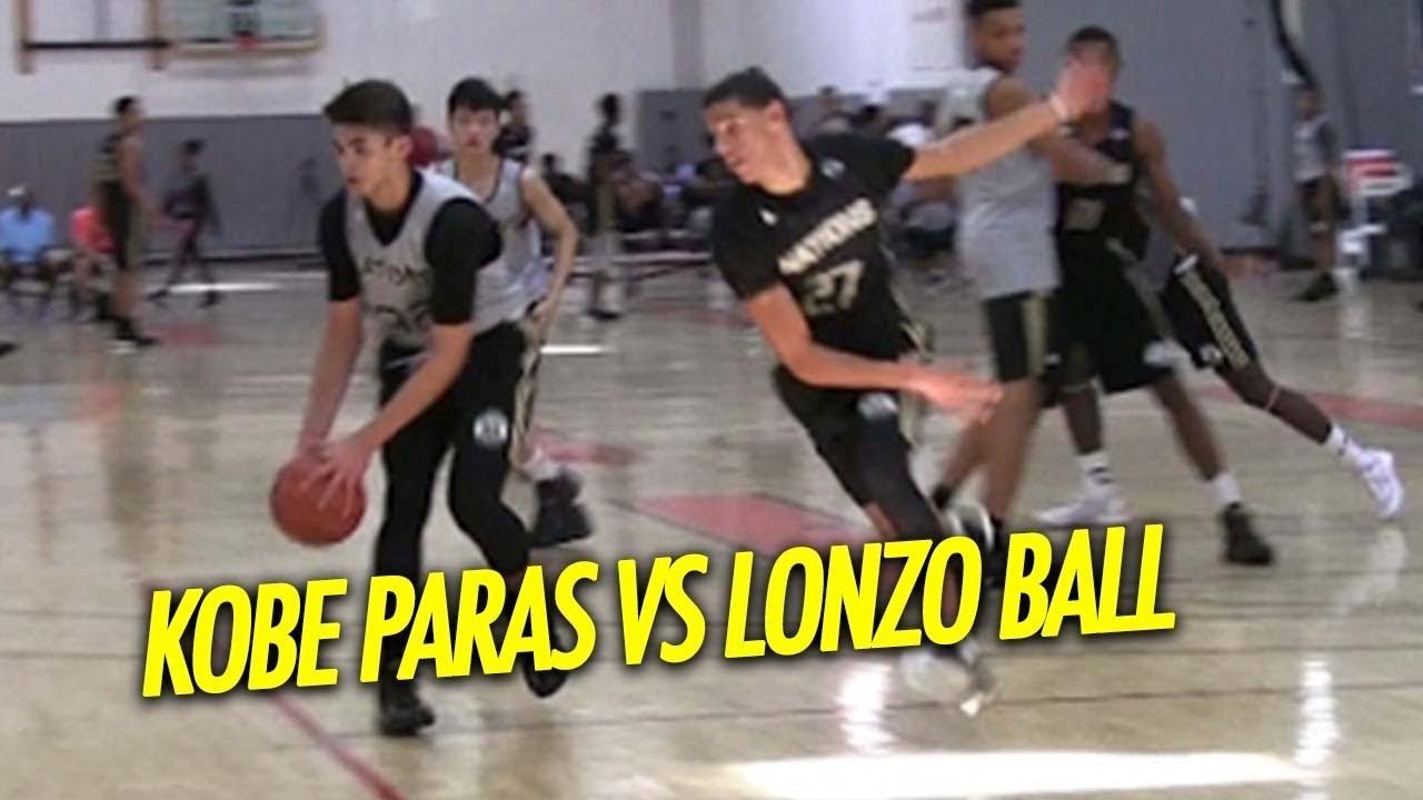ef0860f17f3e Kobe Paras vs Lonzo Ball and Many More NBA Prospects