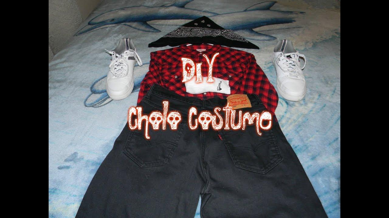 Diy Cholo Costume Youtube