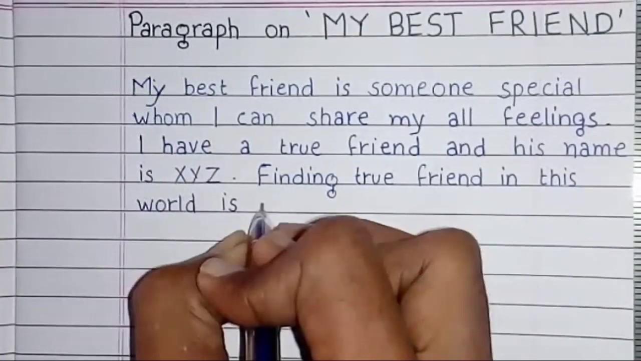french essays on my best friend