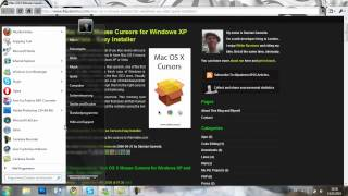 [How To] Mac OS x cursor bei windows XP/Vista/7