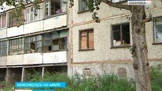 Вести-Хабаровск. Дома Минобороны в Комсомольске рискуют остаться без отопления