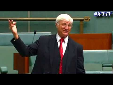 Bob Katter - They have our boys wearing dress's, redefined the word gay & now redefined Marriage