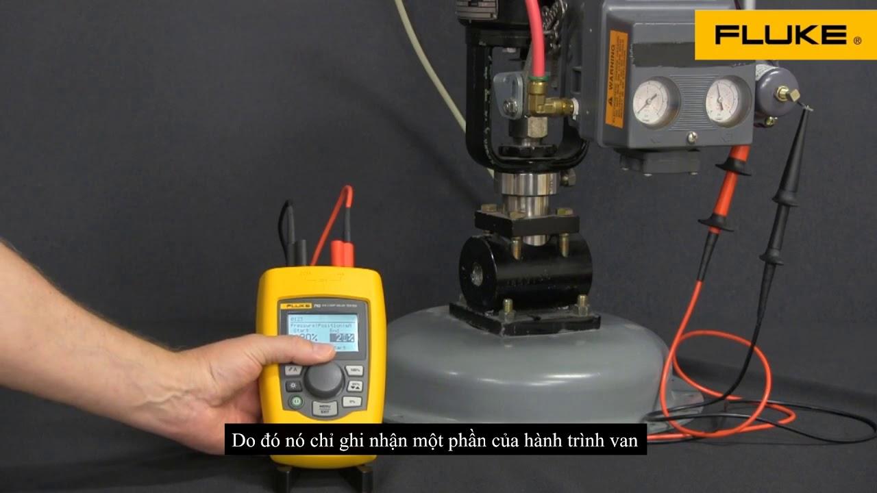 HDSD Fluke 710mA kiểm tra bump – bump test