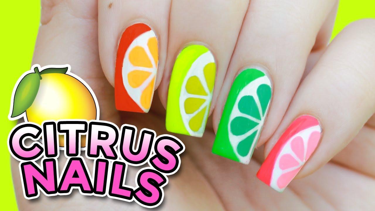 Diy easy summer citrus nail art orange lemon lime and diy easy summer citrus nail art orange lemon lime and grapefruit prinsesfo Gallery