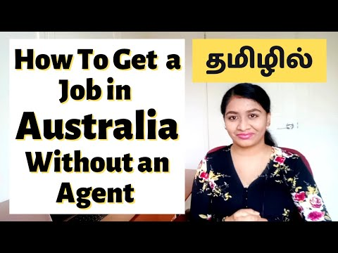 How To Apply For A Job In Australia In Tamil | 4 Easy Steps WITHOUT AN AGENT