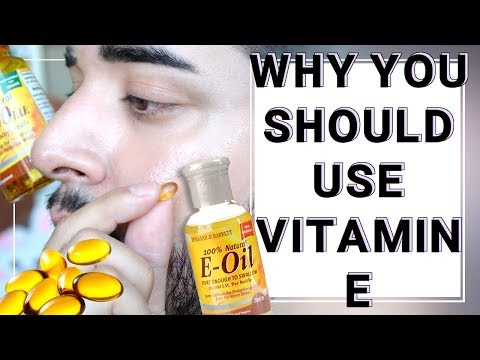 Why You Should Be Using Vitamin E / How To Use Vitamin E For Hair And Skin ✖ James Welsh