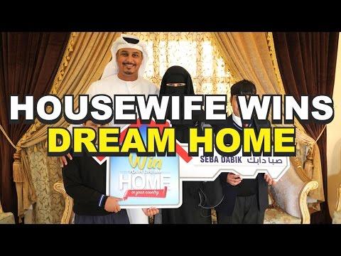 Housewife wins Dream Home   ربة بيت تربح منزل الأحلام