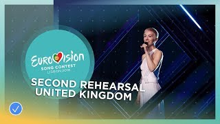 SuRie - Storm - Exclusive Rehearsal Clip - United Kingdom - Eurovision 2018