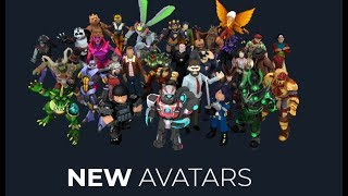 COMMENT À GET NEW AVATARS IN ROBLOX 2018!
