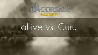 aLive vs. Guru - TvZ - Corsair Cup #35