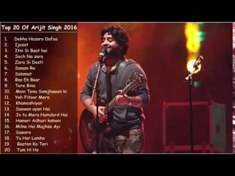 Best Of Arijit Singh | Top 20 Songs | Jukebox 2018