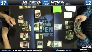 SCGATL - Standard - Semifinals - Justin Uppal vs David Vo