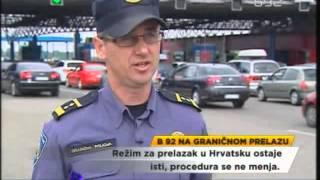 Kako će građani Srbije prelaziti granicu s Hrvatskom