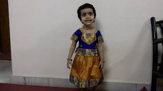 Download Baby Hansini 2 years and 5 months singing Kanna Nee Enge MP3 song and Music Video