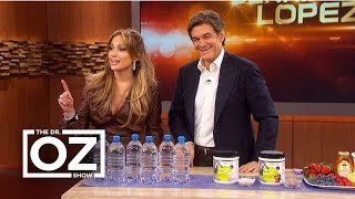 jennifer lopez tells dr oz her beauty secrets
