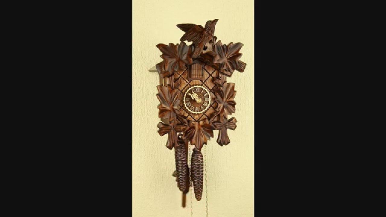 Механические настенные часы с кукушкой Tomas Stern 5009 - YouTube