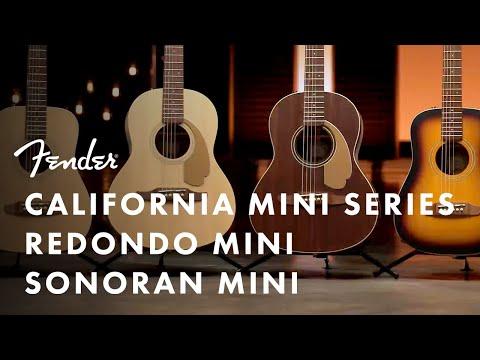 Exploring The California Mini Acoustics Series | Fender Acoustics | Fender