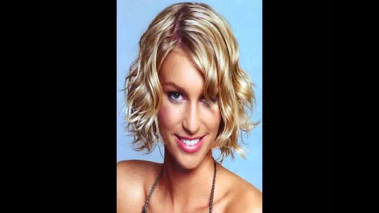 Short Hairstyles For Older Women With Round Faces Youtube
