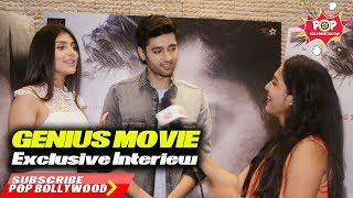 Exclusive Interview With Genius Movie Stars | Utkarsh Sharma | Ishitha Chauhan