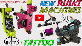Maquinas Tattoo de Bobinas Mini B-DOG/JONES Y GENT Video tutorial de Akira
