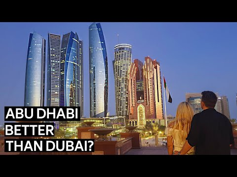 WORLDS MOST EXPENSIVE HOTEL | EPIC DAY IN ABU DHABI FROM DUBAI UAE