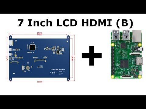 Installing LCD 7 (B) to Raspberry Pi 3 by Agam Muhajir