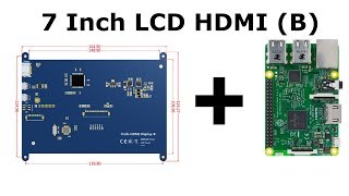 Installing LCD 7 (B) to Raspberry Pi 3
