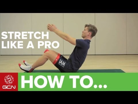 How To Stretch For Cycling With IAM Pro Cycling
