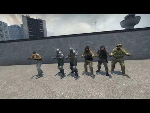 контр террористы танцуют под саксофон шрека