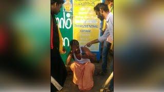 Cauvery water crisis : Tamil activists attack Karnataka vehicle | Oneindia News