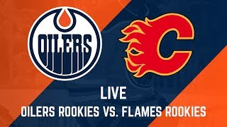 FULL GAME ARCHIVE | Oilers Rookies at Flames Rookies