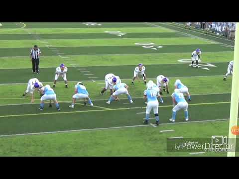 Hunter Patterson #2 Oak Glen High School Football Highlights