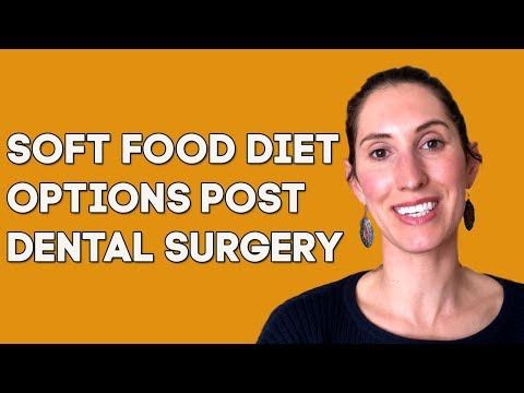 Soft Food Diet Post Dental Surgery